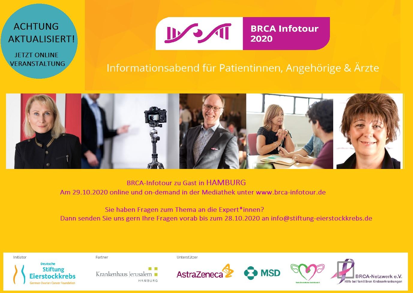 BRCA Infotour Hamburg